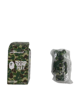 Load image into Gallery viewer, Bape green camo Bearbrick 100% - MrBreckz