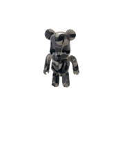 Load image into Gallery viewer, Bape white & grey camo Bearbrick 100% - MrBreckz