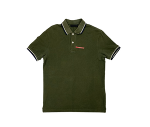 Prada green polo - MrBreckz