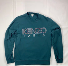 Load image into Gallery viewer, Kenzo Paris green jumper - MrBreckz