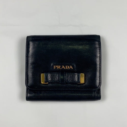 Prada vintage black wallet/ purse - MrBreckz