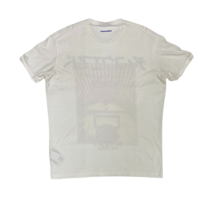 Dsquared2 white tee - MrBreckz
