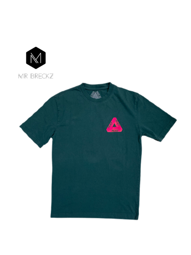 Authentic palace green tee - MrBreckz