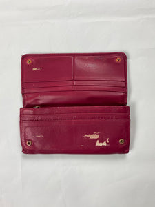 Prada vintage pink long purse - MrBreckz