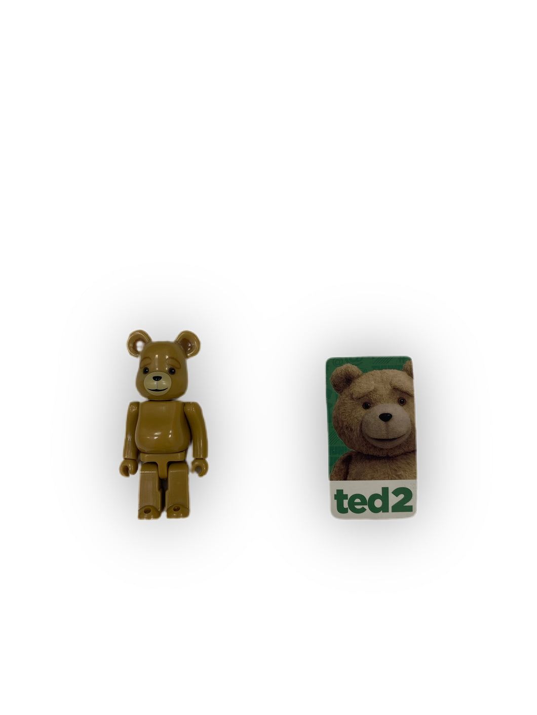 Authentic ted 2 100% Bearbrick - MrBreckz