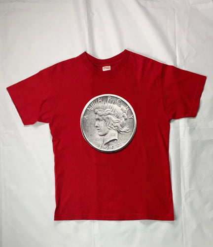 Supreme anarchy coin tee 2012 - MrBreckz