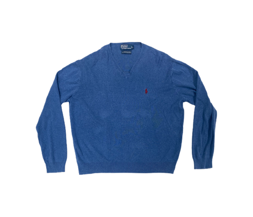 Authentic Ralph Lauren blue jumper - MrBreckz