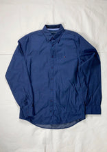 Load image into Gallery viewer, Tommy Hilfiger navy regular fitted shirt - MrBreckz