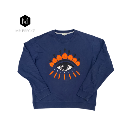 Authentic kenzo Paris navy jumper - MrBreckz