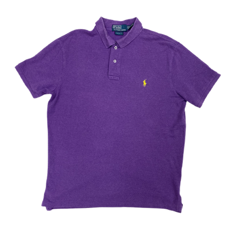 Authentic Ralph Lauren purple polo - MrBreckz