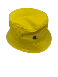 Rick Owens x champion yellow bucket hat - MrBreckz