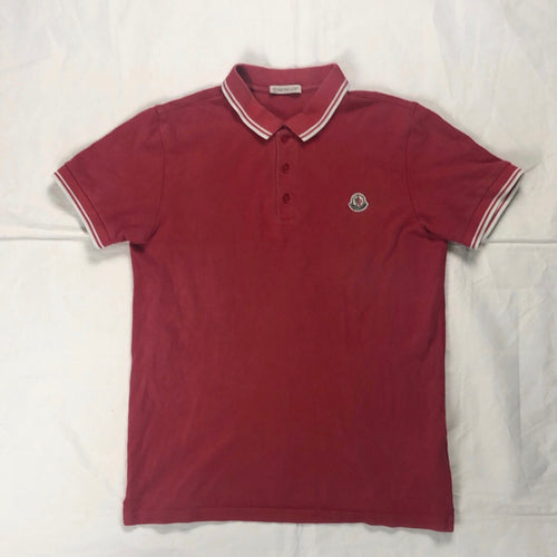 Moncler red junior polo - MrBreckz