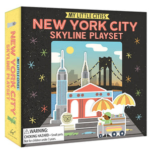 My Little Cities: New York City Skyline Playset