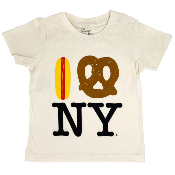 Hot Dog Pretzel NY Tee