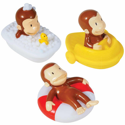 Curious George Bath Squirters
