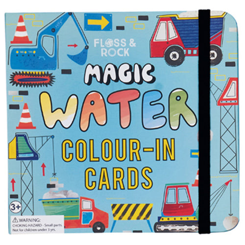 Construction Magic Water Cards