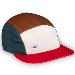 Earth Colourblock Kids 5-Panel Hat