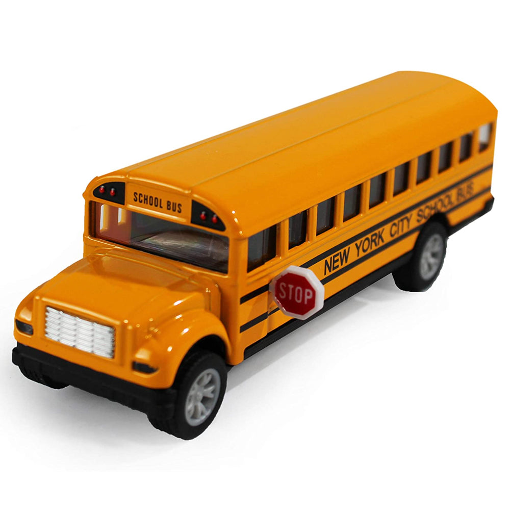 Die-Cast Metal New York City School Bus