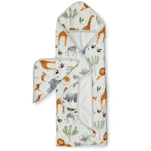Safari Jungle Hooded Towel