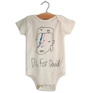 D is for David Onesie