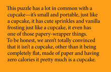 Little Puzzle Thing | Cupcake
