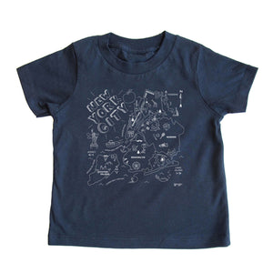New York City Tee Navy