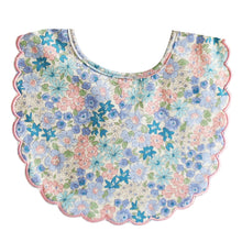 Scallop Bob Liberty Blue Bib