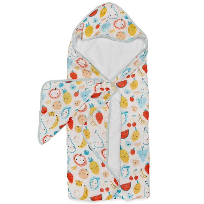 Hooded Towel Set - Cutie Fruits