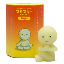 Smiski Glow In The Dark Figure Yoga Series