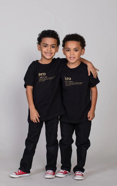 12-18M T-shirt Bro Logo Matching Family Tshirt - Kids (FINAL SALE) - Tony by Toni