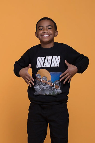 2T / Rosa Parks sweatshirt Dream Big: 2021 Toddler/Youth Unisex Sweatshirt - Tony by Toni