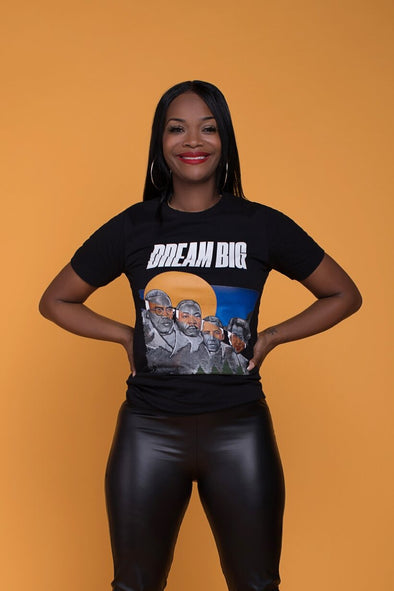 XS (Women 0-2) / Rosa Parks T-shirt Dream Big: Unisex T-Shirt - Tony by Toni