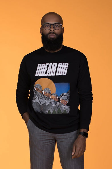 XS (Women 0-2) / Rosa Parks sweatshirt Dream Big: 2021 Unisex Sweatshirt - Tony by Toni