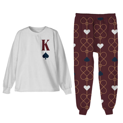 S / King of Spades Pajamas King of Spades - Matching Family Pajamas - Tony by Toni