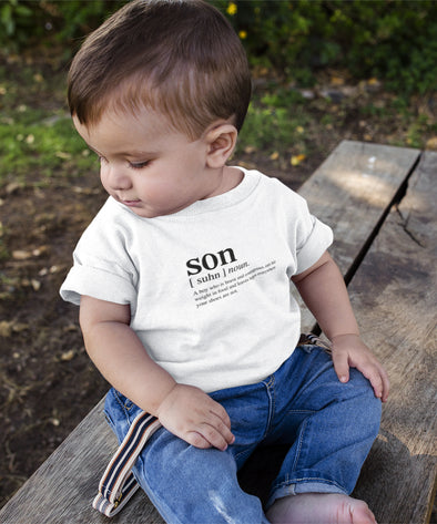 Onesie Son Logo Infant Onesie- Matching Family (FINAL SALE) - Tony by Toni