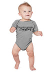 3-6M / Athletic Gray Onesie Family Over Everything 2.0 Infant Bodysuit - Baby Unisex - Tony by Toni