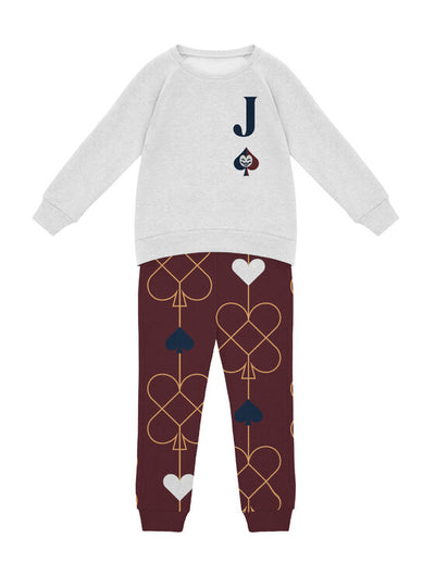 2T / Big Little Joker Pajamas Big Little Joker - Toddler/Youth Matching Family Pajamas - Tony by Toni