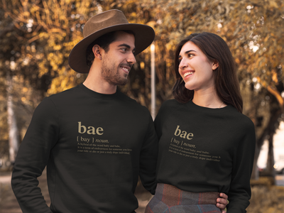 Bae Logo Matching Family Crew Neck Sweatshirt (FINAL SALE) - Tony by Toni