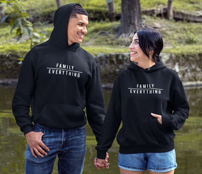 Hoodie Family Over Everything Unisex Hoodie (FINAL SALE) - Tony by Toni