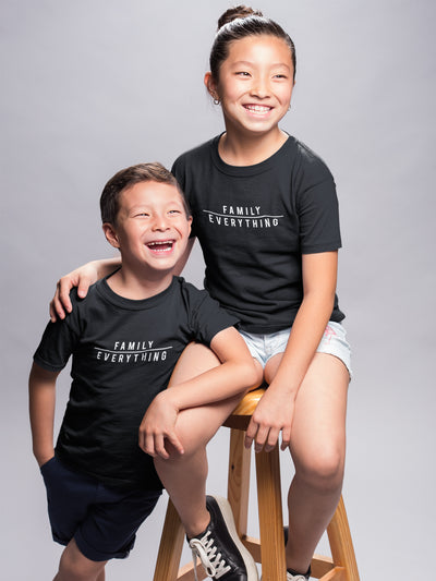 T-shirt Family Over Everything T-Shirt- Kids Unisex (FINAL SALE) - Tony by Toni