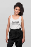 S Tank top Mother slogan tank top in white - Tony by Toni