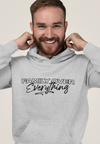 XS (Women 0-2) / Athletic Gray Hoodie Family Over Everything 2.0 Unisex Hoodie - Tony by Toni