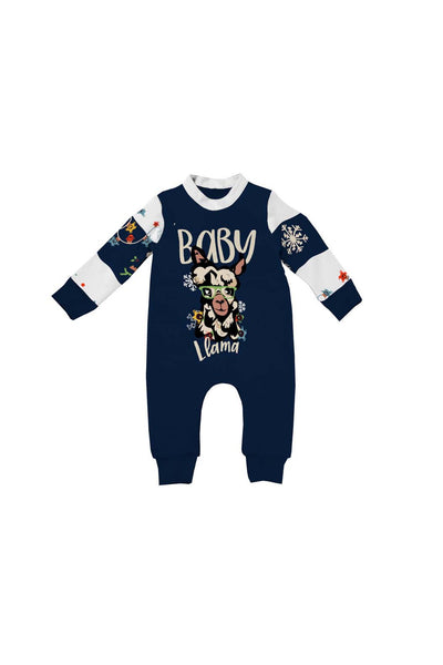 3-6M / Baby Llama Pajamas Baby Llama - Infant/Toddler Matching Family Pajama - Tony by Toni