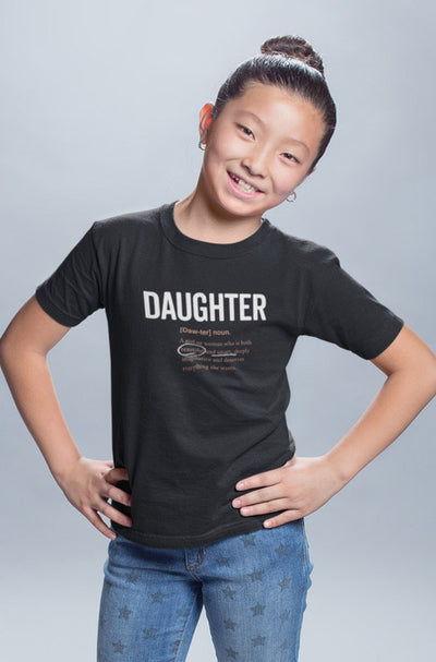 T-shirt Daughter Logo 2.0 Matching Family T-shirt - Tony by Toni