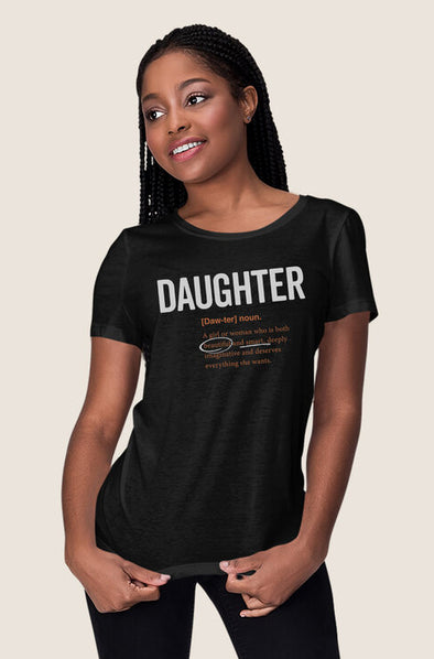 T-shirt Daughter Logo 2.0 (Adult) Matching Family T-shirt - Tony by Toni