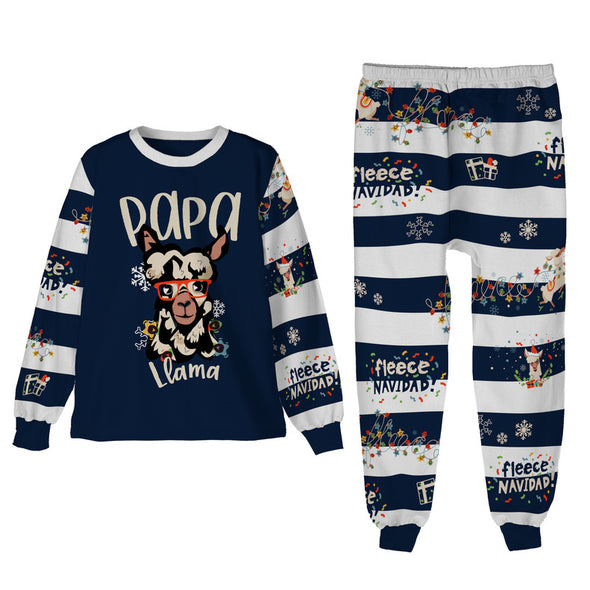 S / Papa Llama Pajamas Papa Llama - Men's Matching Family Pajamas - Tony by Toni