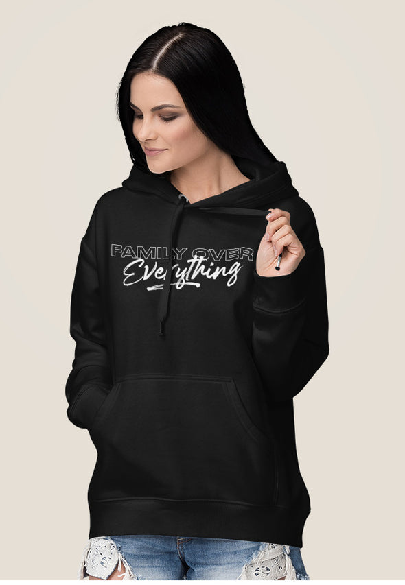 XS (Women 0-2) / Black Hoodie Family Over Everything 2.0 Unisex Hoodie - Tony by Toni