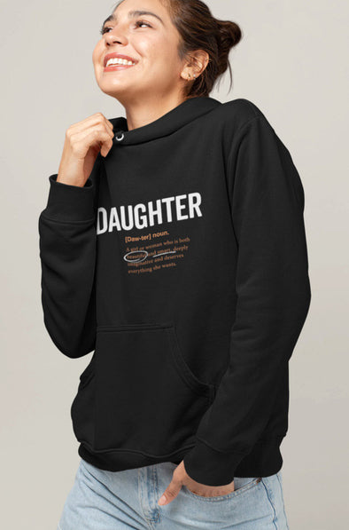 XS (0-2) Hoodie Daughter Logo 2.0 (Adult) Matching Family Hoodie - Tony by Toni