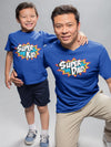 Super dad slogan t-shirt (FINAL SALE) - Tony by Toni