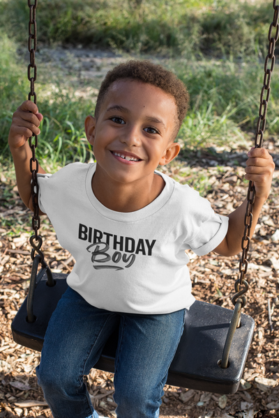 12-18M / White T-shirt It's Your Birthday Boy t-shirt - Tony by Toni